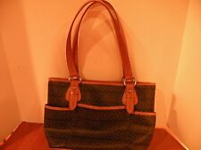 16ba63d0b2778 Giani Bernini Block Signature Pink Stripe Tote Handbag - Brown for ...