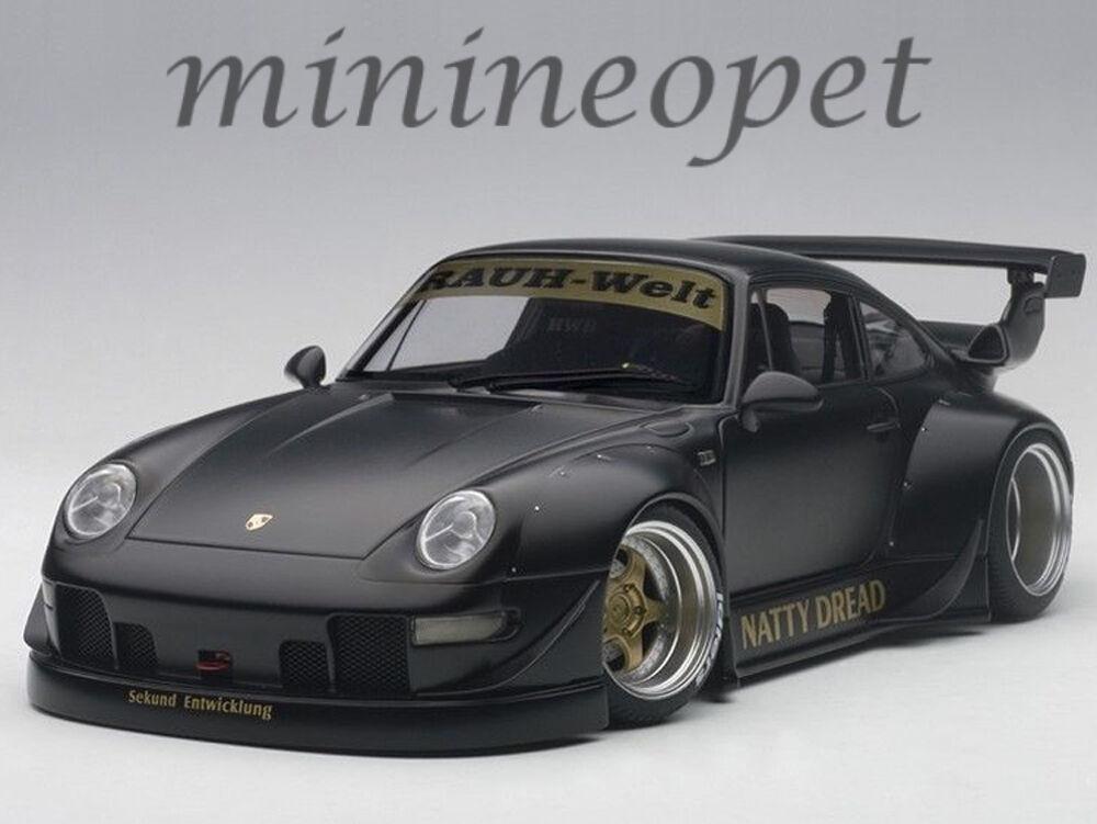 AUTOART 78154 PORSCHE RSF Modèle 993 1 18 Noir  Mat Or avec roues  choisissez votre préférée