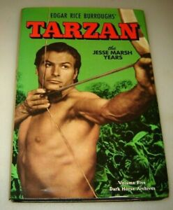 TARZAN-THE-JESSE-MARSH-YEARS-ARCHIVES-Vol-5-1951-HC-Dark-Horse