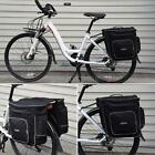 ROSWHEEL 30L Bike Bicycle Cycling Bag Double Side Rear Tail Seat Rack Pannier