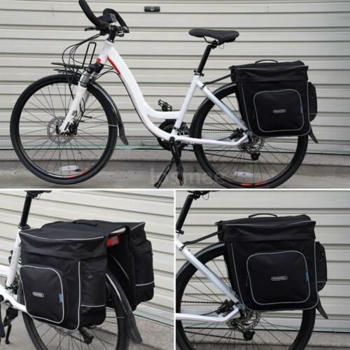 ROSWHEEL 30L Bike Bicycle Cycling Bag Double Side Rear Tail Seat Rack Pannier