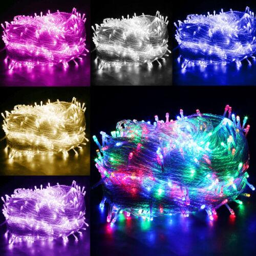 LED-Weihnachtslichterkette-Lichterkette-Ausen-Innen-Kette-Leuchte-Wasserdicht-DE