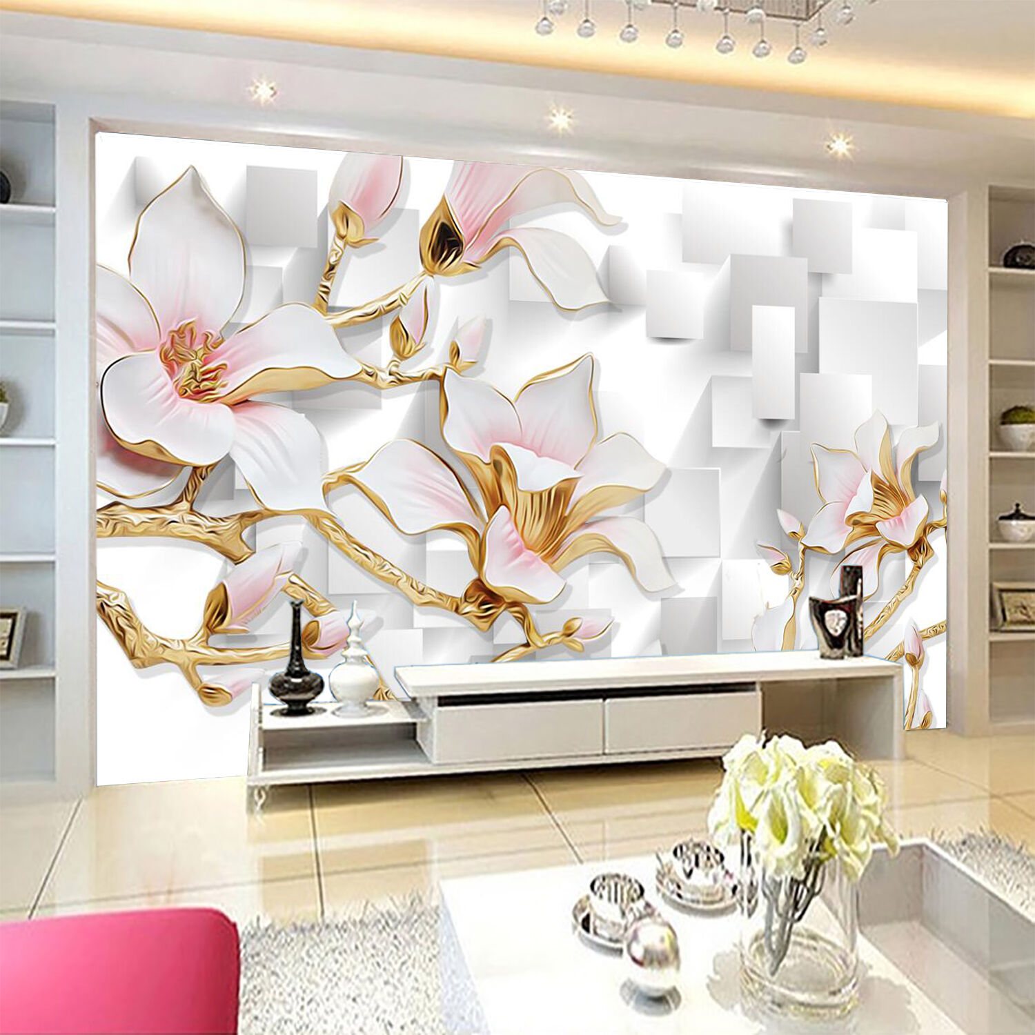 3D Artificial Flowers 1867 Paper Wall Print Wall Decal Wall Deco Indoor Murals