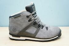 Timberland Mens Size 8.5 UK Scramble Mid Waterproof Ankle Boots Suede Grey BNWB