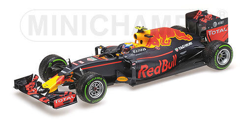 117161233 rosso BULL RACING TAG HEUER rb12-MAX vers brancolando - 3rd, 1 18 Minichamps