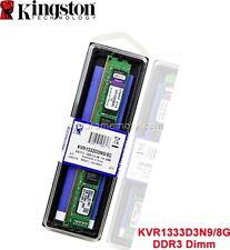 8 GB (1 X 8GB) DDR3-1333 CL9 240 PIN DIMM Kingston SDRAM Memory KVR1333D3N9/8G