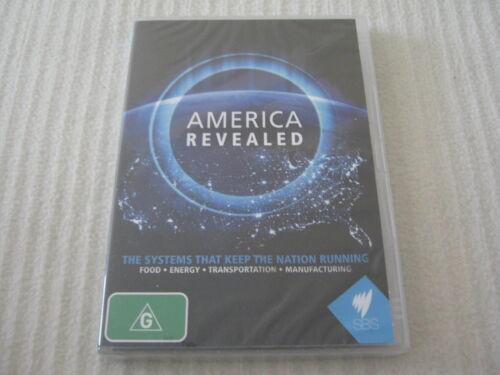 1 of 1 - America Revealed - SBS - Brand New & Sealed - All Regions - DVD