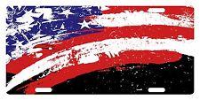 USA UNITED STATES Flag Custom License Plate AMERICAN Emblem PAINT Version