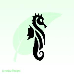 Sea-Horse-Vinyl-Decal-Sticker-Sea-Life-Nautical-Outdoor-Diving-066