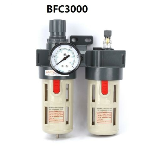 Oil-water separator two-piece  filter pressure regulator air treatment BFC3000