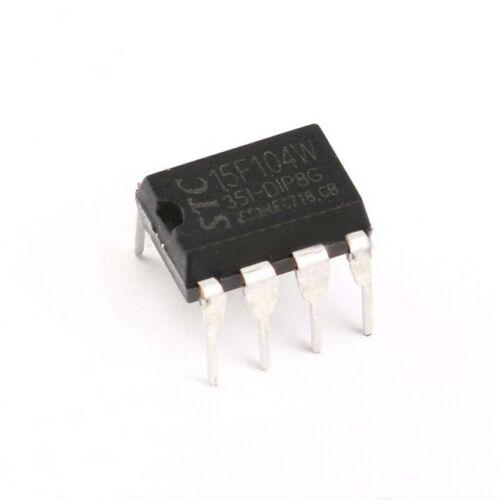 2pcs STC15F104W-35I-DIP8G STC Single Chip Integrated Circuit MCU DIP-8