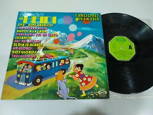 Heidi-Canciones-de-Die-Fernseher-TV-Serie-1975-LP-vinyl-12-034-VG-VG-5T