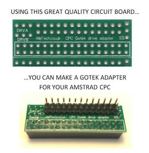 KMTech-Gotek-External-Drive-Adapter-for-the-Amstrad-CPC-PCB-ONLY-DIY