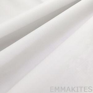 White Super Thin Waterproof PU Coated Nylon Fabric for Stunt Kites Parachute
