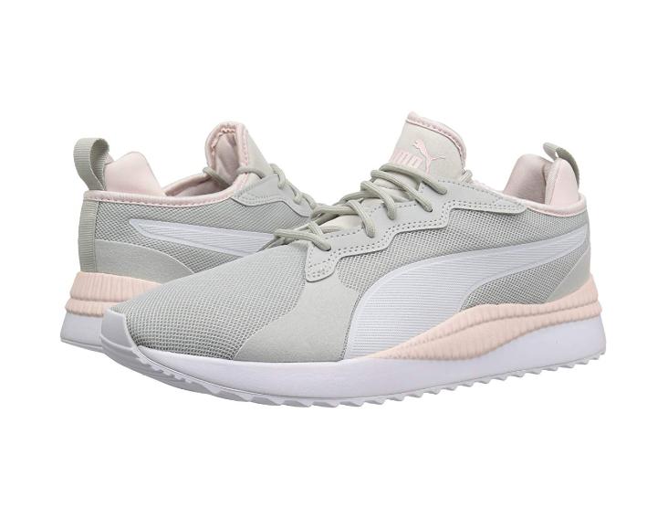 PUMA Men's Pacer Next Sneaker | Gray Violet White-Pearl | 11.5 M US