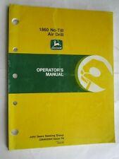 John Deere 1860 No Till Air Drill Operators Manual Oma62264 Issue F8