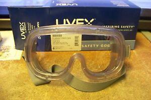 4d6ddb5d3050f A imagem está carregando Novo-Uvex-S360-classico-oculos -Seguranca-corpo-claro-