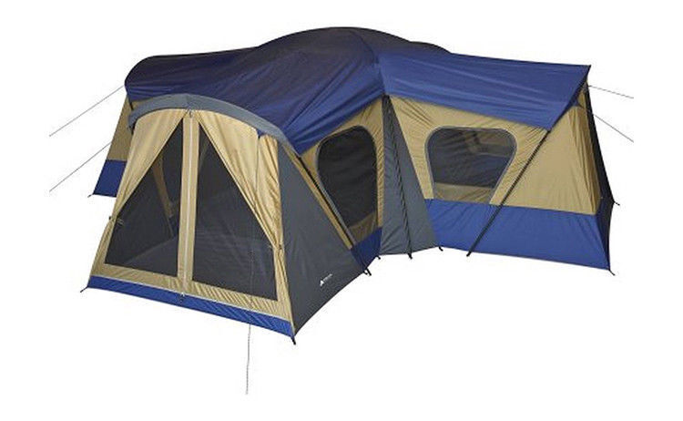 Base Camp Tent 14-Person 4-Room Cabin Family Camping Outdoor Easy Setup WA