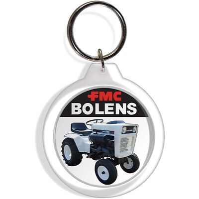 GARDEN LAWN TRACTOR ENGINE KEY FOB RING KEYCHAIN IGNITION PART BOLENS FMC CO