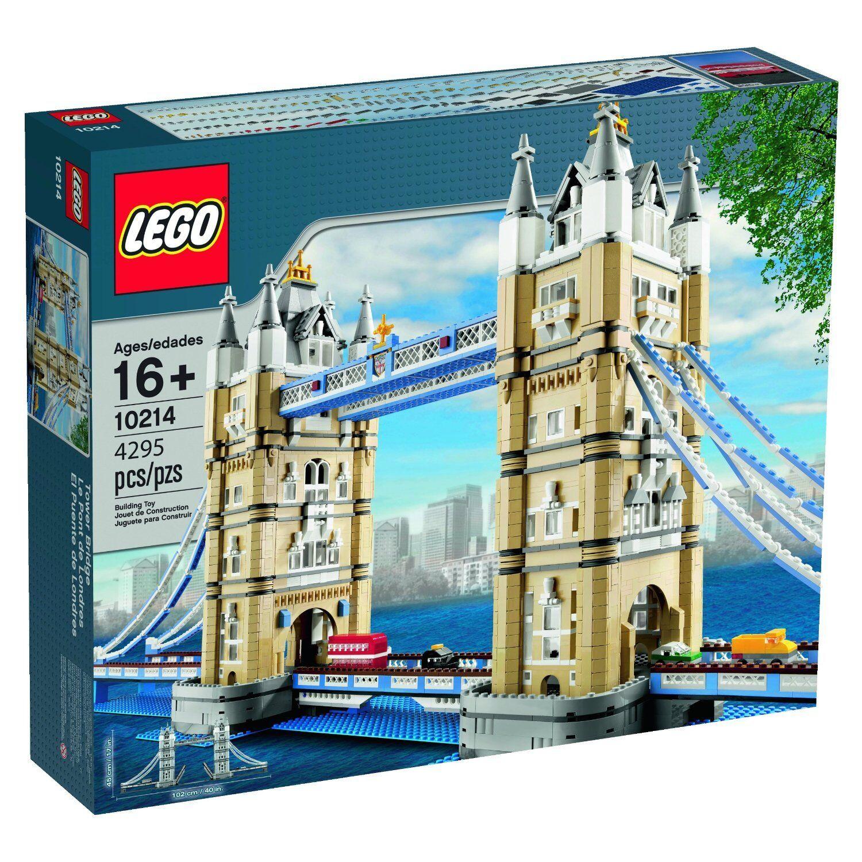 LEGO TOWER BRIDGE 10214-sigillato in fabbrica GRATIS P&P