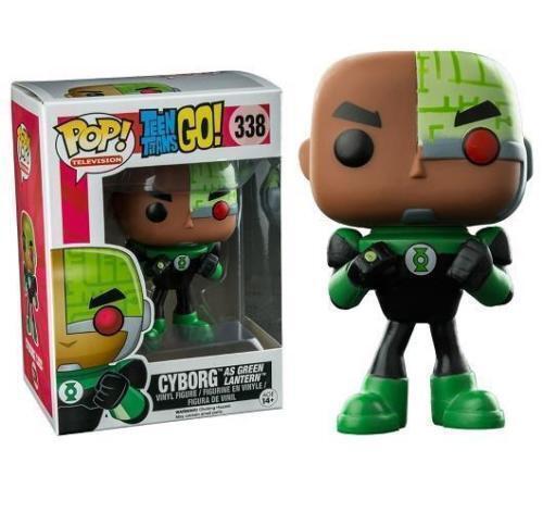 Funko - Figur Dc Comics - Teen Titans Go Cyborg für Grün Lantern  338