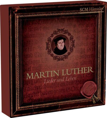 1 von 1 - Martin Luther - Lieder & Leben, 4 Audio-CDs 4 Audio-CD(s)