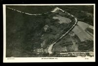 Somerset PORLOCK Hill Aerial view RP PPC by Aerofilms Ltd of Hendon