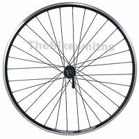 Alex R450 Black Front 700c Road Bike Wheel / Shimano 2400 Claris Hub &wheelsmith