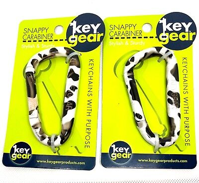 COW Print Snappy Carabiner disaster tactical earthquake survival gear GIFT 0461