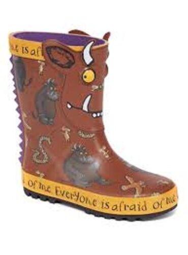 Tu Childrens  Gruffalo Wellies Wellington Boots Infant 4 BNWT!!