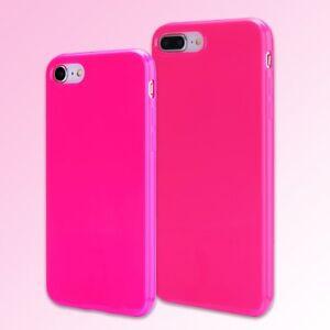 For-iPhone-8-7-7Plus-8Plus-Case-Ultra-Slim-Cute-Hot-Pink-Soft-TPU-Silicone-Cover