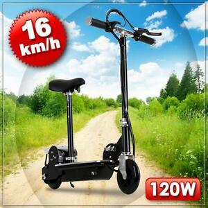 racing escooter elektro e scooter city roller bike 16 kmh. Black Bedroom Furniture Sets. Home Design Ideas