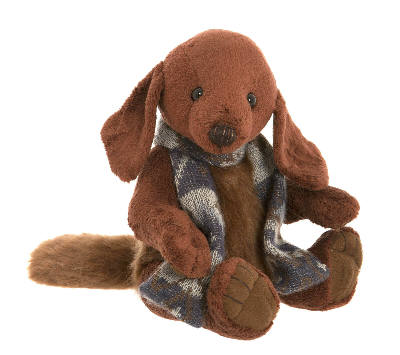 Charlie Bears Bears Bears Hund Duffle ca. 30cm groß 8b7442