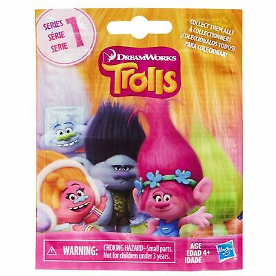 Sealed Small Blind Bag DreamWorks Trolls Mini Figure Series 9-12 to Collect