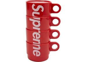 Supreme-Stacking-Cups-Set-Of-4-Red