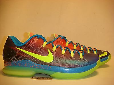 NIKE KD 5 ELITE EYBL PROMO QS nerf weatherman what the kd galaxy preheat bhm 13