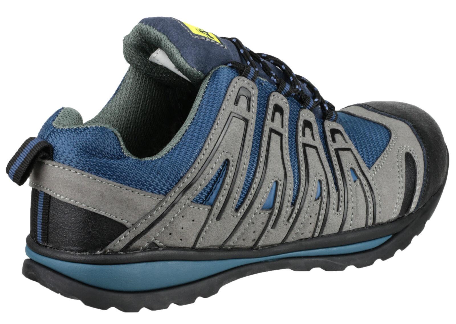 Amblers Zapatillas FS34C seguridad para Hombre Puntera Composite Zapatillas Amblers Zapatos UK4-12 4d4511