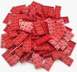 LEGO LOT OF 50 NEW REDDISH BROWN PLATES 1 X 6 DOT PIECES PARTS