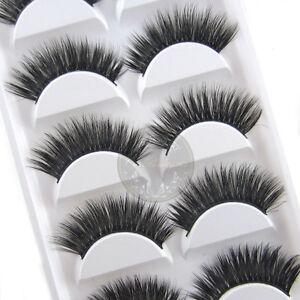 5-Pairs-Luxurious-3D-False-Eyelashes-Cross-Natural-Long-Eye-Lashes-Makeup