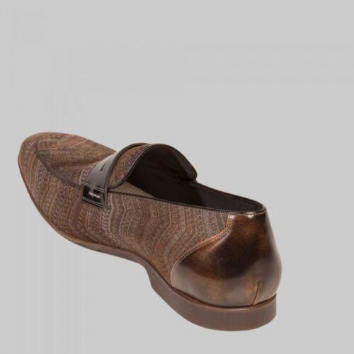 Mezlan Men/'s Terzo Brown Velveteen Loafer Shoes