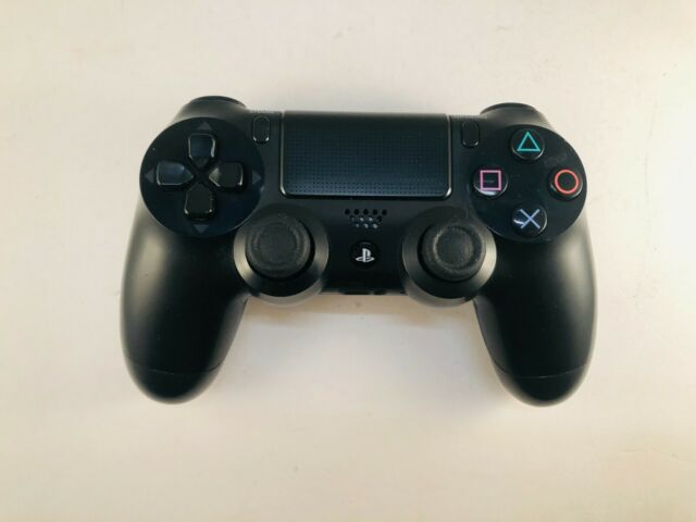 OEM Sony PlayStation 4 PS4 Dualshock 4 Wireless Controller Jet Black FREE SHIP'N
