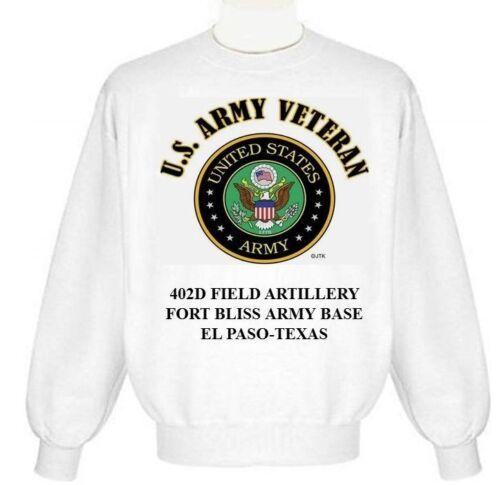 FORT HAMILTON ARMY BASE*BROOKLYN-NEW YORK ARMY EMBLEM SWEATSHIRT