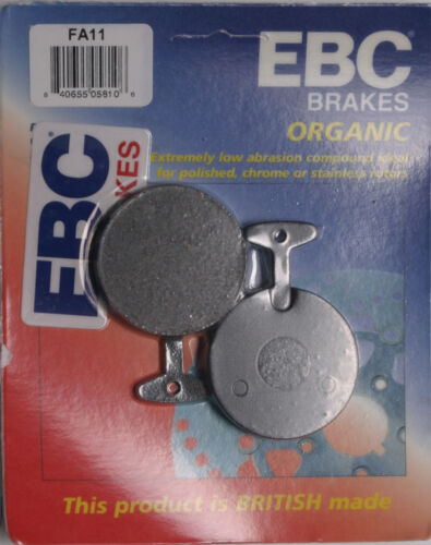 EBC BRAKE PADS Fits Yamaha XS650,RD400,XS500,RD250,TX500,TX650,TX750,XS2