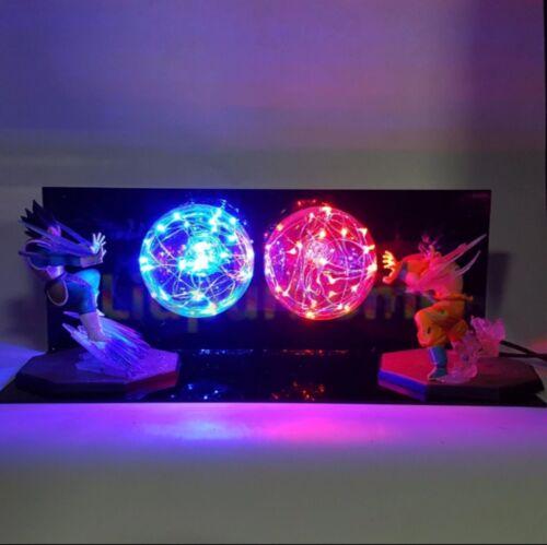 Dragonball Goku vs Vegita LED Lightening  Lamp