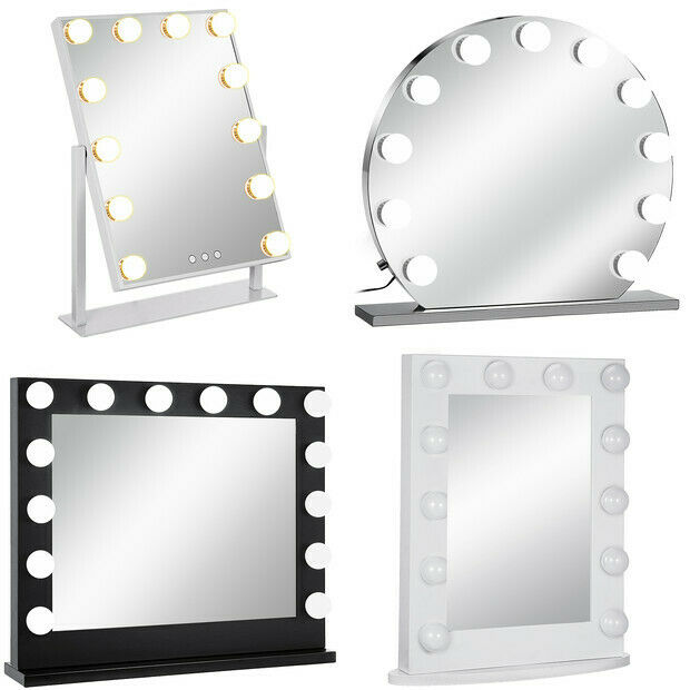 Miroir de maquillage-LED Kit d'ampoules-alimentation-plug in EU-Hollywood star