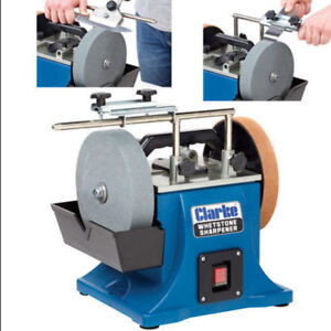 Clarke Cws200b 200mm Whetstone Sharpener Grinder 230v