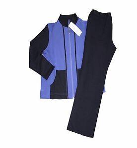 Das Bild wird geladen Schneider-Sportswear-Dora-Damen -Trainingsanzug-Hausanzug-Anzug-BESTFORM- 35c4653ec0