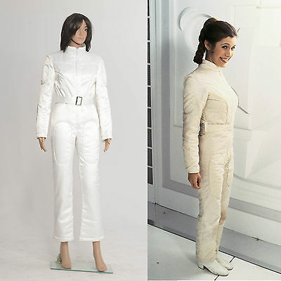 Star Wars Princess Leia White Jumpsuit Costume Custome Made Ebay