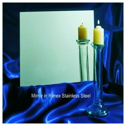 Super Mirror stainless steel 0.8mm Many Sizes