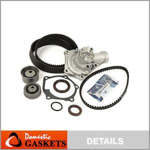 Timing Belt Kit Water Pump Fit 2003-08//2005 Mitsubishi Lancer Evo TURBO 4G63T